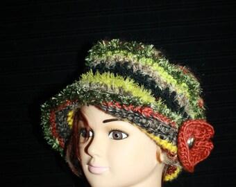 fancy edge, very warm hat.