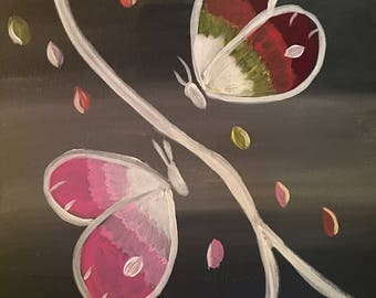 Butterfly Painting Acrylic Painting