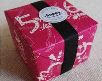 Hoppy Mini Box Map Series 4713077970751 Number 4 Pink