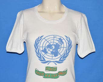 70s Irish Army United Nations Lebanon Mission t-shirt Small