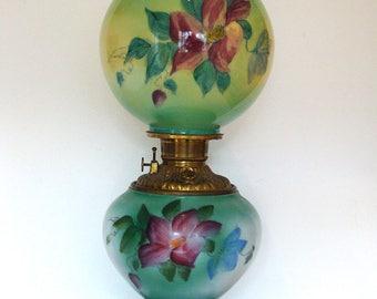 Antique Fostoria Oil Lamp - USA - 213