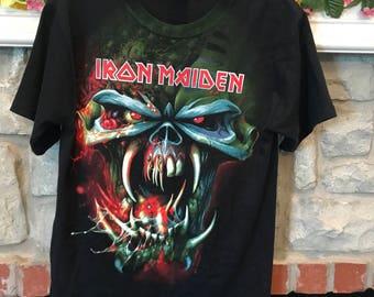 Iron Maiden The Final Frontier world tour t-shirt