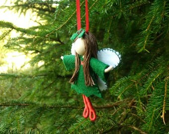 Holly Fairy christmas tree decoration