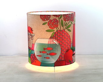 """Lamp of atmosphere to be illustrated """"pink grenadine"""""""