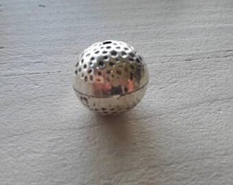 clearance * beautiful Pearl, silver Tibetan n3