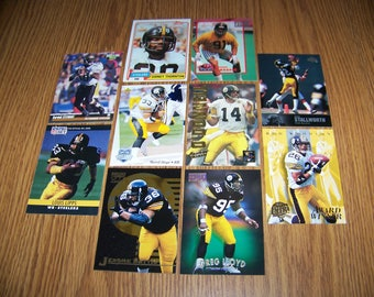 50 Pittsburgh Steelers Football Cards