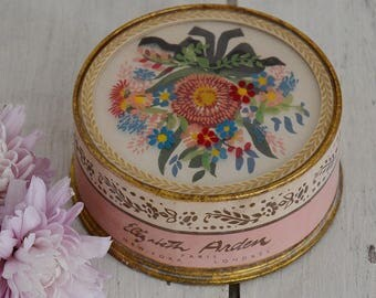 Beautiful Vintage Powder Box EA Paris