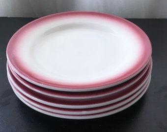 1960s Laughlin Appetizer Plates - Set of 5