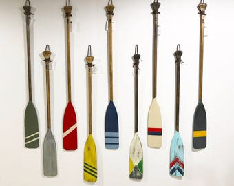 Canoe paddles birthday gift - house warming gift, Christmas Gift , wedding gift, home decor