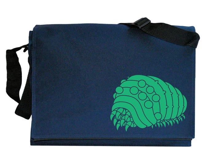 Ohm Ohmu Anime Grub Navy Blue Messenger Shoulder Bag