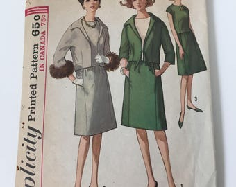 Vintage Simplicity Pattern 5151, 1960's Sewing Pattern, J.C. Penny Co.
