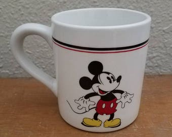 Vintage Mickey Mouse Gabbay Mug