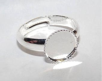 Smaller 14 mm ring size 4 child ring holders ring adjustable girls ring 8 mm for jewelry making