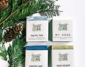 Boxed Set of 4 Oregon Soaps