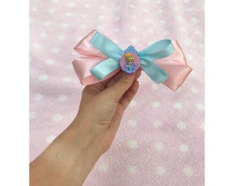 Disney Princess Cinderella Hair Barrette Bow