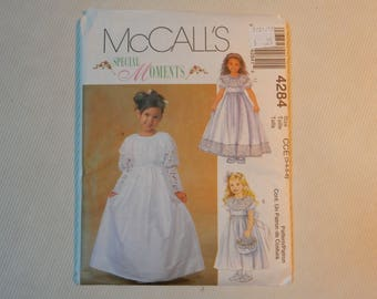 McCall's 4284 Lined Dress Sizes 3-6