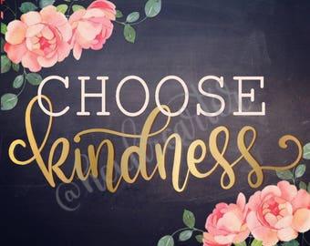 Choose Kindness printable