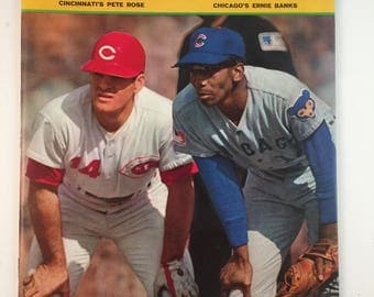 Pete Rose Ernie Banks Sports Illustrated 1969