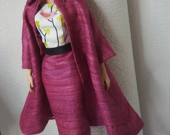 Crimson Birdy for Fashion Royalty, Silkstone Barbie and similar dolls
