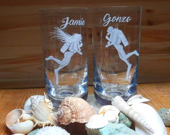 Ocean Gifts,Scuba diving glasses, scuba diver gift, scuba diver Tumbler, Scuba Diving Gift, Scuba Gear, Gift for Diver, Gift for Scuba Diver