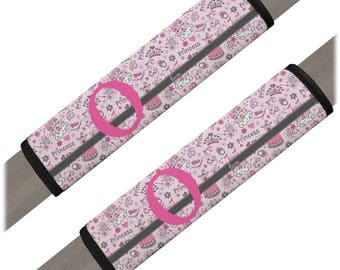 Princess Seat Belt Covers (Set of 2) (Personalized)