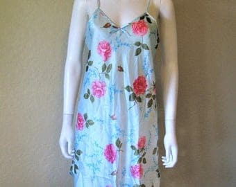 ON SALE floral slip