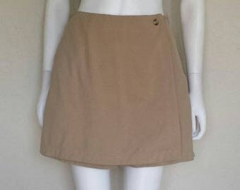 Northface Tan beige wrap skort