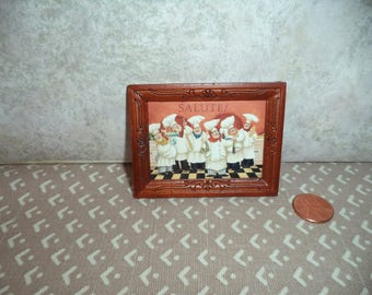 1:12 scale Dollhouse miniature Bakers picture