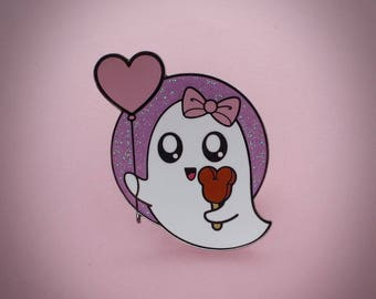 Kawaii Ghost - Enamel Pin
