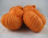 Butternut Squash - Hand Dyed Soft Sock Superwash MCN Fingering/Sock Yarn