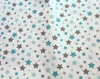 Coated fabric 50 x 70 cm stars