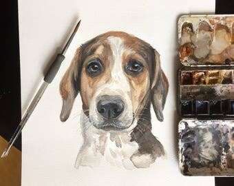 GIFT for DOG LOVER, watercolor dog, art, dog, dog portrait, cat portrait, custom pet painting, animal painting, dog watercolour,dog portrait