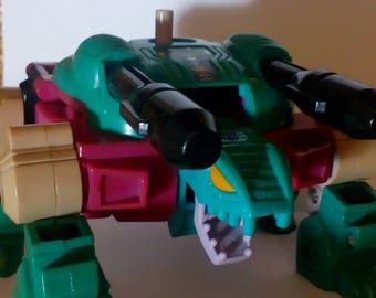 Vintage 1987 G1 Snaptrap Deacon Piranacon decepticons Transformers action figure