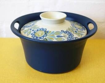 Vintage Figgjo Flameware Norway Tor Viking ovenproof dish