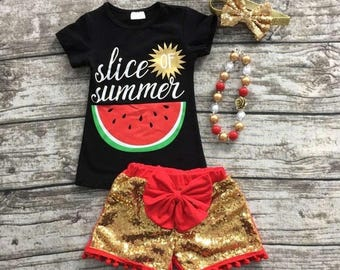 Slice of Summer Boutique Outfit