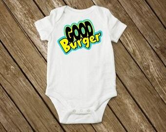 Good Burger - Kenan & Kel - 90s Nickelodeon  - Baby Bodysuit, Baby T-Shirt, Toddler T-Shirt