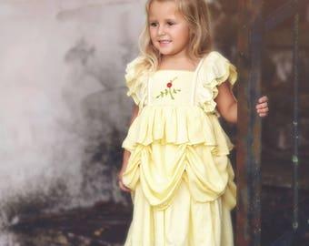 Rose Princess Inspired Dress