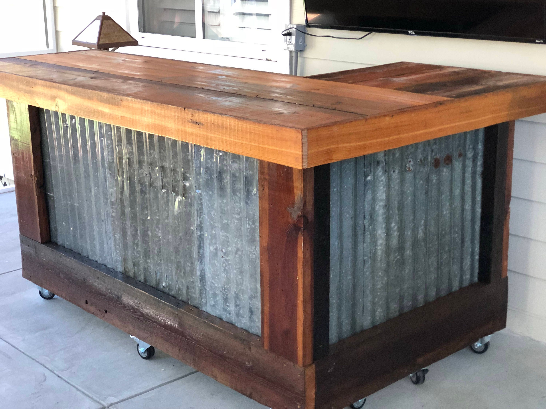 Rough Rustic Shaped Bar