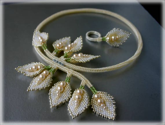 Cala set beading TUTORIAL