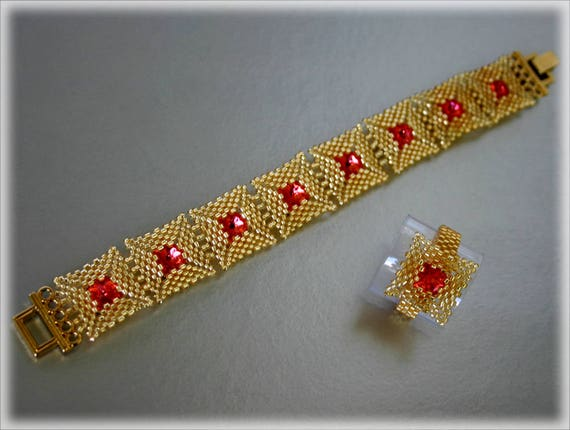 Golder set beading TUTORIAL