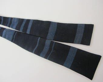 Skinny Bow Tie Ernst  1960s Bow Tie Mad Men Bow Tie Nerd Tie Wool