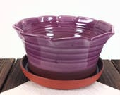 Large purple ceramic Pott...