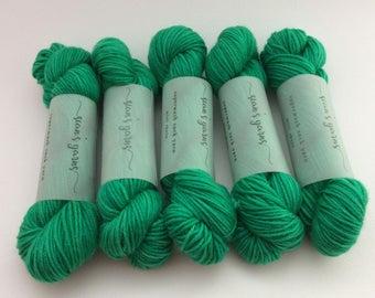 Sock Yarn Mini Skein - Emerald Isle