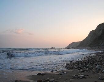 Mohegan Bluffs Sunset