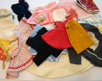 Doll clothes, vintage doll clothes, old doll clothes
