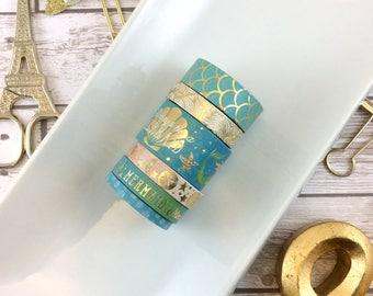 LAST CHANCE - Always Be A Mermaid // Washi Tape Samples