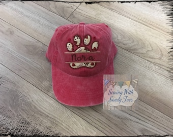 Dog Mom, Dog Mom Hat, Baseball Cap, Baseball Hat, Dog Lover, Dog lover hat, Dog hat, Dog Lover gift, Dog Mom Cap, Dog, Mom, Fur Mama Hat