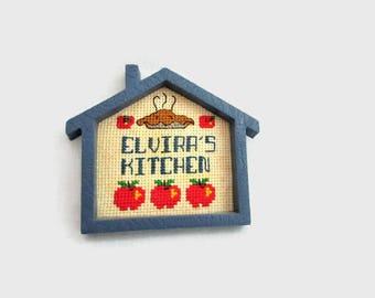 Elvira's Kitchen - Vintage Kitchen Magnet