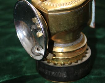 Justrite Carbide Miner's Lamp - Like New