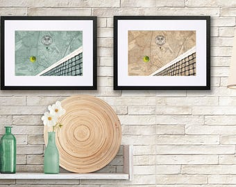 Wimbledon Print - CUSTOMISE THE YEAR